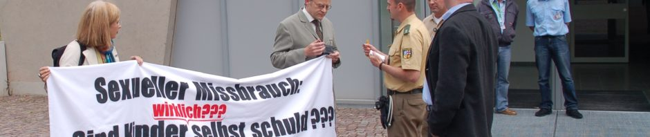 Anti-Kernberg-Aktion in Saarbrücken 2009